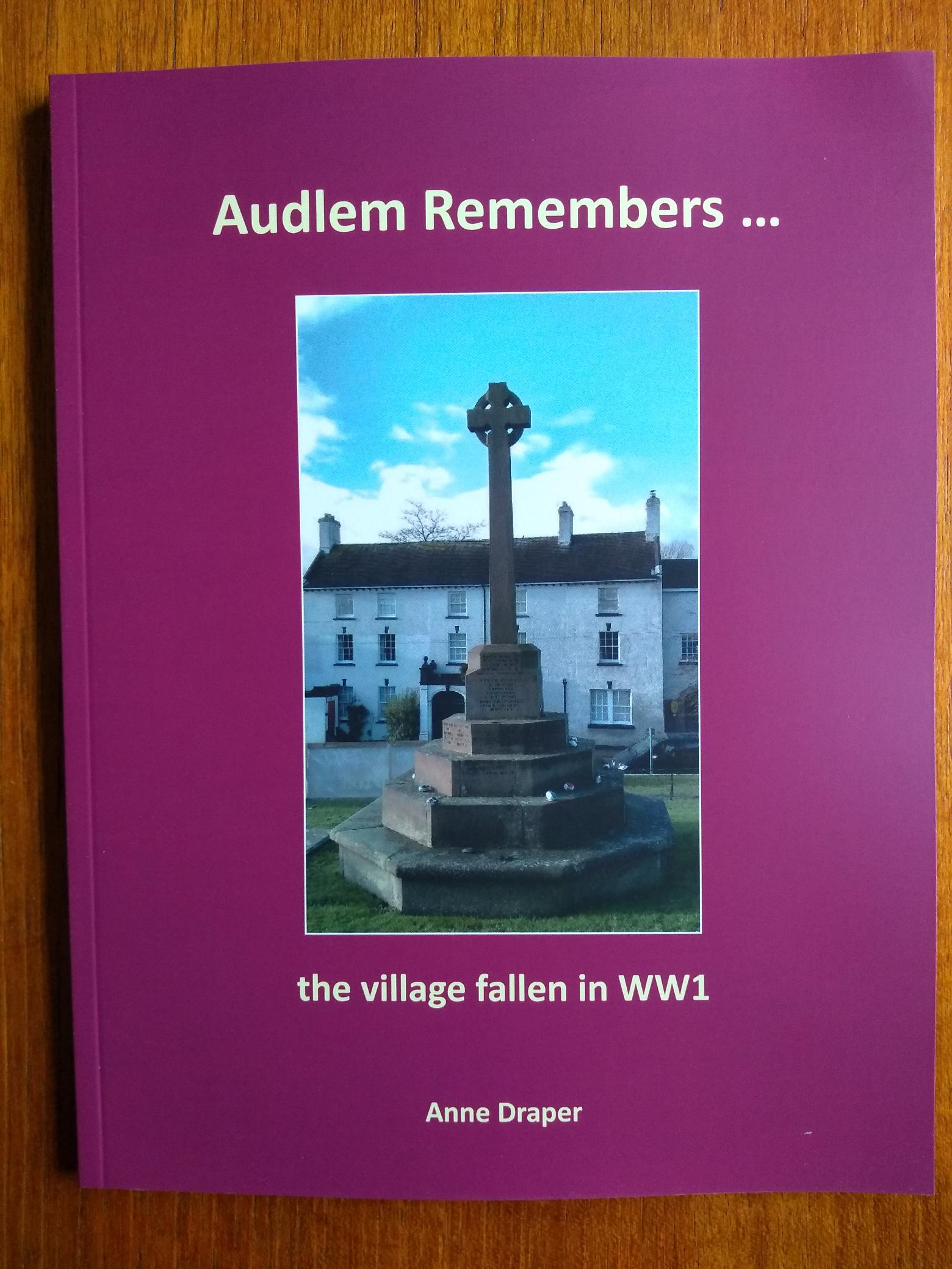 Image of Book Cover Audlem Remembers